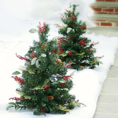 3' Pre-Lit Decorated Stake Tree,
