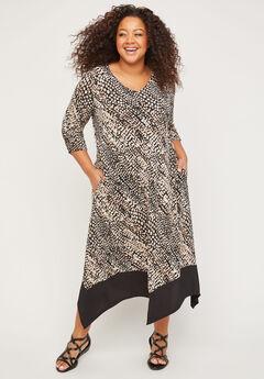 AnyWear Treemont A-Line Dress,