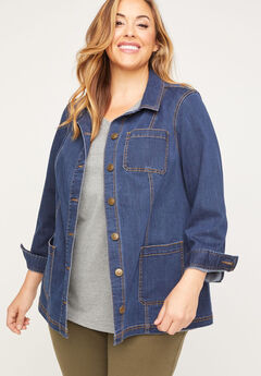Denim Barn Jacket,