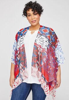 Ocean Avenue Kimono,