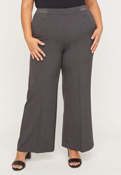 Wide Leg Refined Pant,