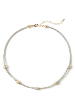 Pave Sparkle Necklace,