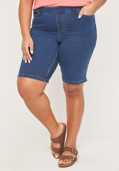 The Knit Jean Short (With Pockets),