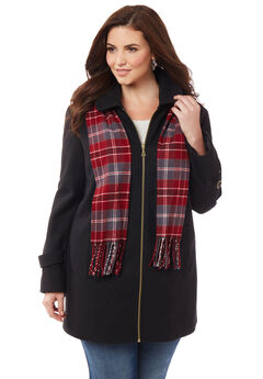 Sidewalk Coat & Scarf,