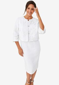 Lace Jacket Dress,