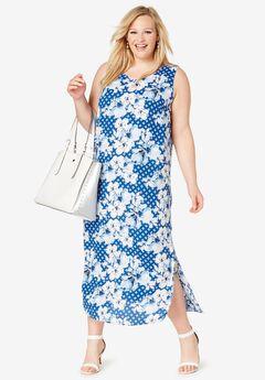 Georgette Tank Dress,