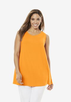 Sleeveless Swing Tunic,
