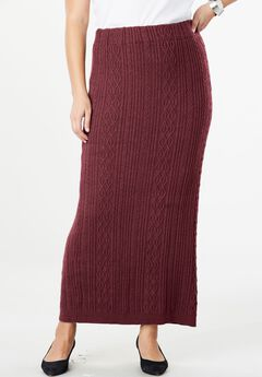 Cable Sweater Skirt,