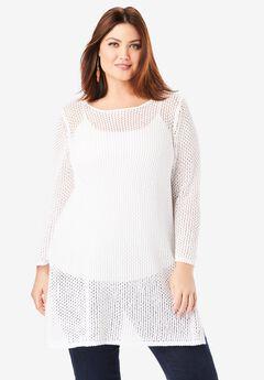 Crochet Pullover,