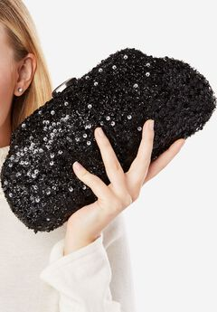 Sequin Clutch,