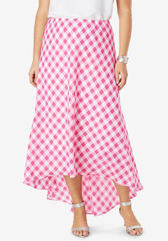 Hi-Low Maxi Skirt,