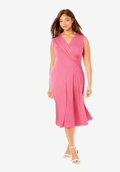Drape-Over Dress,