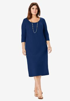 Knit T-Shirt Dress,