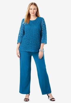 Lace Popover Jumpsuit,
