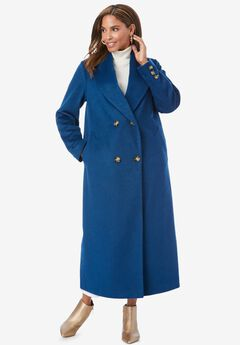 Long Shawl Collar Coat,