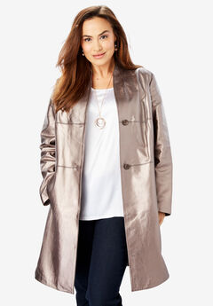 75acf0f7b2ea8 Plus Size Leather Jackets for Women
