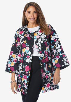 Tulip Sleeve Jacket,