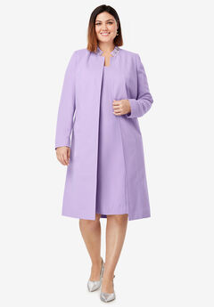 Single-Breasted Skirt Suit| Plus Size Skirt Suits | Woman Within