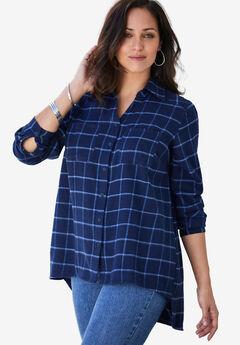 Long Sleeve Flannel Shirt,
