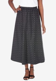 Poplin Skirt,
