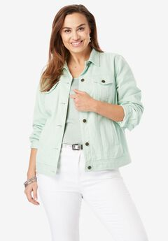 Classic Cotton Denim Jacket,