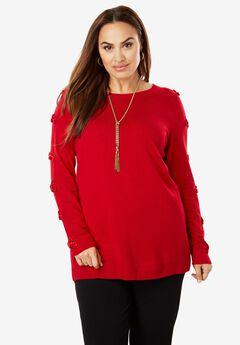 Velvet Bow Sweater,