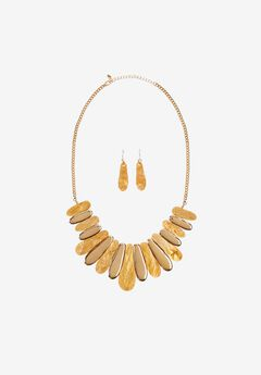 Statement Necklace & Earring Set,