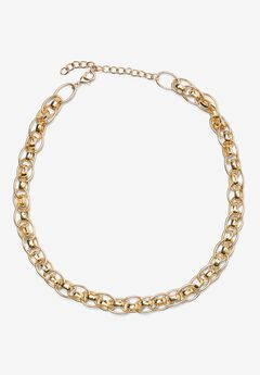 Chain Link Necklace,