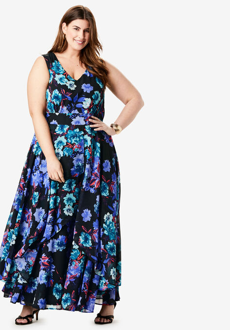 Flyaway Maxi Dress