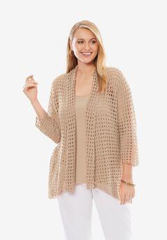 Crochet Cardigan Sweater,