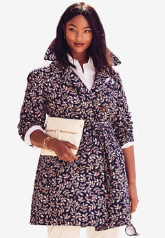 Short Belted Trench Coat,
