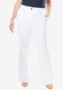 Boot Cut Bi-Stretch Pants,