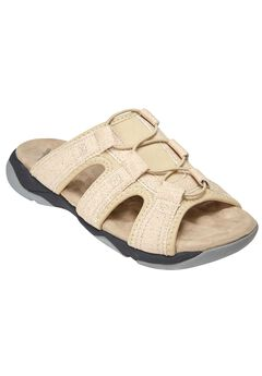 Lexy Mule Sandal by Comfortview®, NATURAL, hi-res