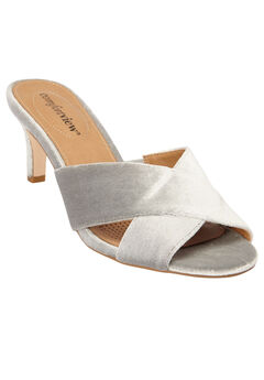 The Geraldine Mule by Comfortview®, SILVER, hi-res