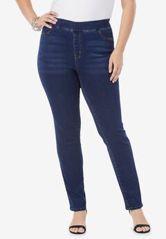 The Straight-Leg No-Gap Jean,