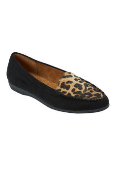 The Joanna Flat by Comfortview®, BLACK