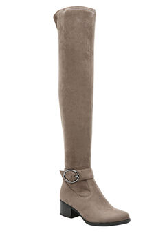 Dalyn Wide Calf Boots by Naturalizer®, GREY, hi-res