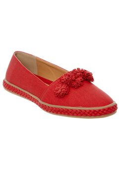 Luca Flats by Comfortview®, RED, hi-res