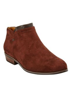 The Bexley Bootie by Comfortview®, BROWN, hi-res