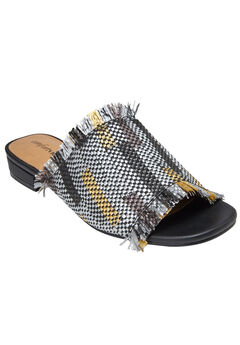 Faryl Mules by Comfortview®, BLACK MULTI