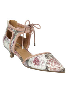 Scarlett Pumps by Comfortview®, FLORAL, hi-res