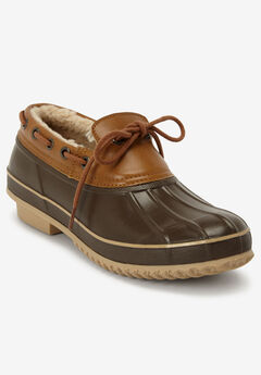 The Storm Waterproof Slip-On , DARK BROWN
