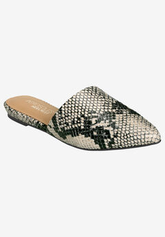 Out of Town Mule by Aerosoles Platinum,