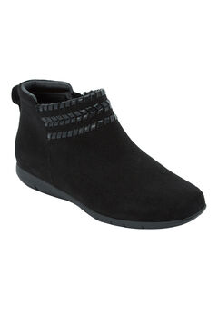 The Farren Bootie by Comfortview®, BLACK, hi-res