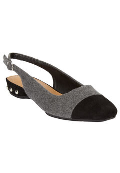 The Angela Slingback by Comfortview®, GREY