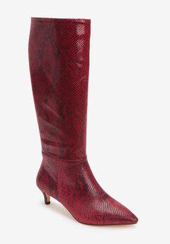 The Poloma Wide Calf Boot by Comfortview®,
