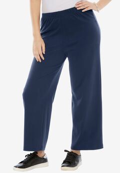 Soft Knit Wide Leg Pant,
