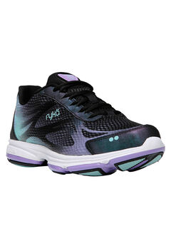 Devotion Plus 2 Sneaker by Ryka®, BLACK PURPLE BLUE, hi-res
