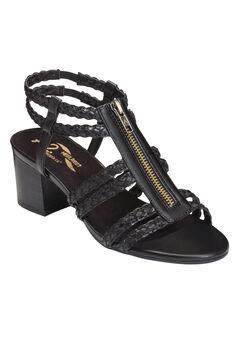 Mid Range Sandals by A2 Aerosoles®, BLACK COMBO, hi-res