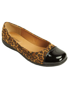 The Fay Flat by Comfortview®, LEOPARD, hi-res